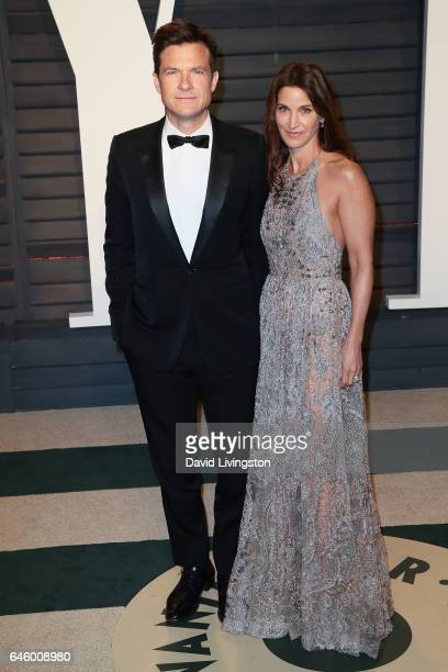 Actor Jason Bateman and wife Amanda Anka attend the 2017 Vanity Fair Oscar Party hosted by Graydon Carter at the Wallis Annenberg Center for the...