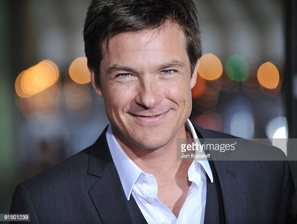 Actor Jason Bateman arrives at the Los Angeles Premiere Couples Retreat at Mann's Village Theatre on October 5 2009 in Westwood Los Angeles California