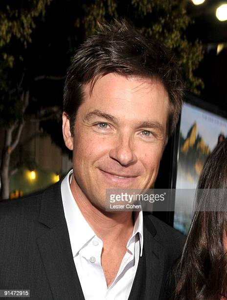 Actor Jason Bateman arrives at the Los Angeles premiere of Couples Retreat held the Mann's Village Theatre on October 5 2009 in Westwood Los Angeles...