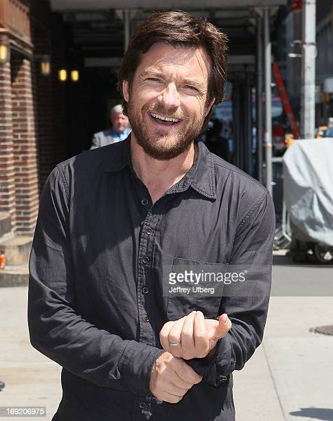 Actor Jason Bateman arrives to 'Late Show with David Letterman' at Ed Sullivan Theater on May 21 2013 in New York City