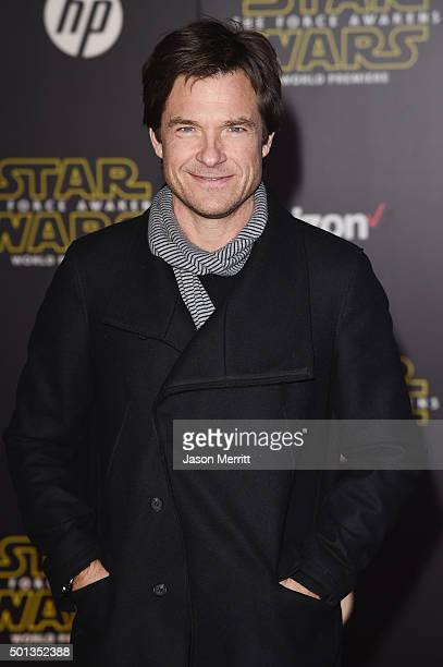 Actor Jason Bateman attends Premiere of Walt Disney Pictures and Lucasfilm's Star Wars The Force Awakens on December 14 2015 in Hollywood California