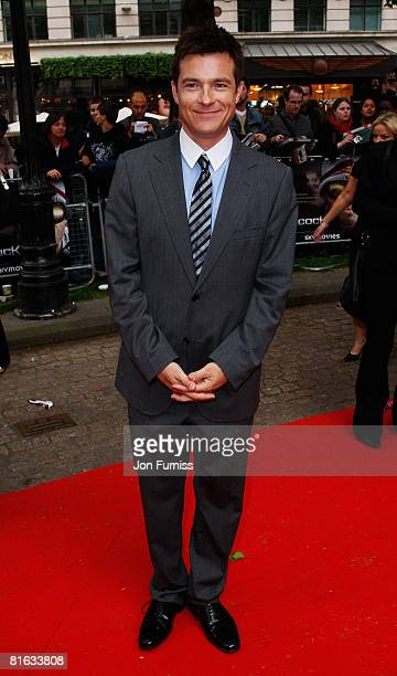 Actor Jason Bateman attends the Gala Premiere of Hancock at Vue West End Cinema Leicester Square on June 18 2008 in London England