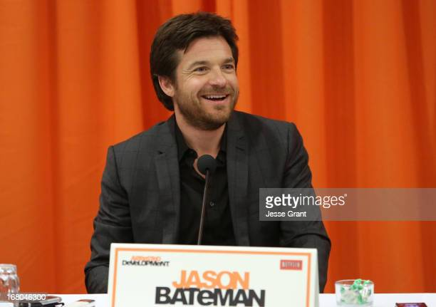 Actor Jason Bateman attends The Netflix Original Series 'Arrested Development' Press Conference at Sheraton Universal on May 4 2013 in Universal City...