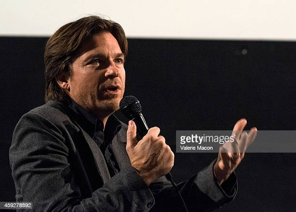 Actor Jason Bateman attends the QA for American Cinematheque hosts special screening of Cake the Egyptian Theatre on November 19 2014 in Hollywood...