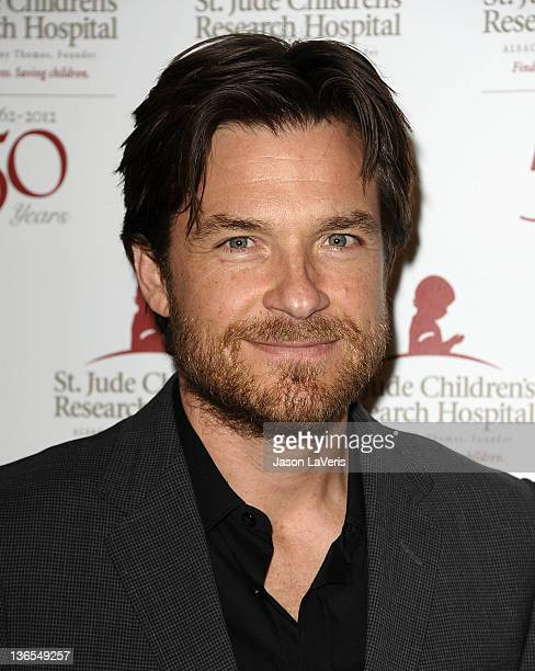 Actor Jason Bateman attends the St Jude Children's Research Hospital 50th anniversary gala at The Beverly Hilton hotel on January 7 2012 in Beverly...
