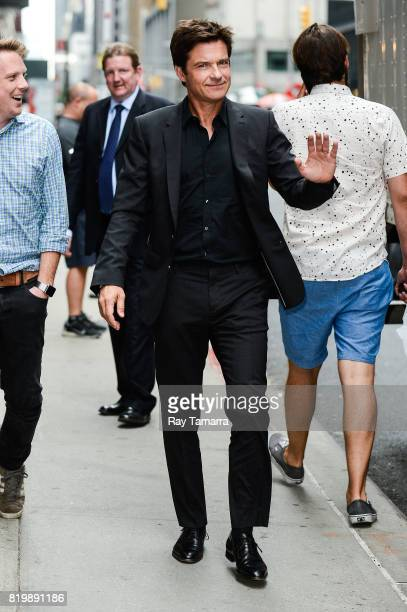 Actor Jason Bateman enters the 'The Late Show With Stephen Colbert' taping at the Ed Sullivan Theater on July 20 2017 in New York City