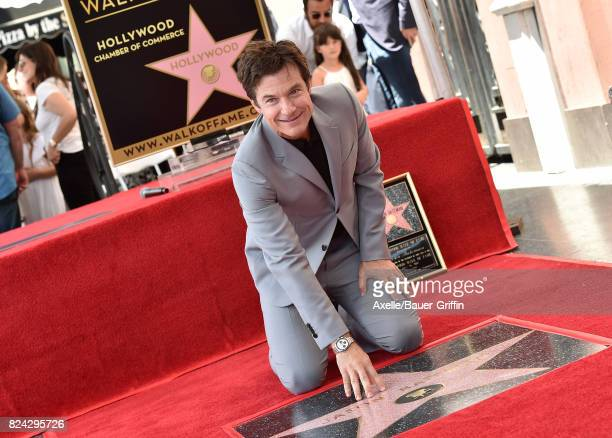 Actor Jason Bateman honored with Star on the Hollywood Walk of Fame on July 26 2017 in Hollywood California