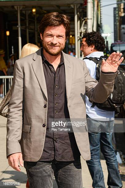 Actor Jason Bateman leaves the 'Late Show With David Letterman' taping at the Ed Sullivan Theater on May 21 2013 in New York City