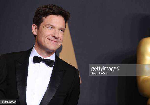 Actor Jason Bateman poses in the press room at the 89th annual Academy Awards at Hollywood Highland Center on February 26 2017 in Hollywood California