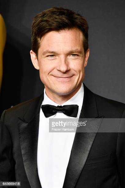 Actor Jason Bateman poses in the press room during the 89th Annual Academy Awards at Hollywood Highland Center on February 26 2017 in Hollywood...