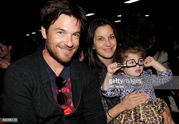 ACCESS*** Actor Jason Bateman wife Amanda Anka and daughter Francesca Nora Bateman attend the first ever Yo Gabba Gabba 'There's A Party In My City'...