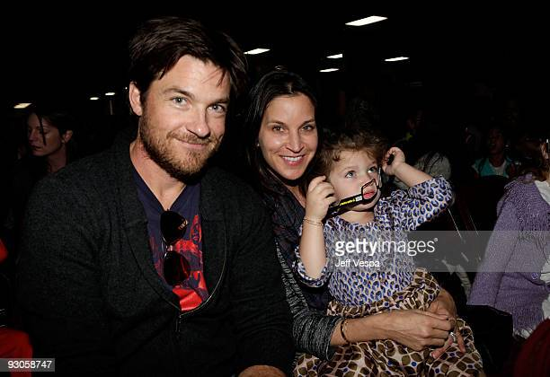 ACCESS*** Actor Jason Bateman wife Amanda Anka and daughter Francesca Nora Bateman attend the first ever Yo Gabba Gabba There's A Party In My City...