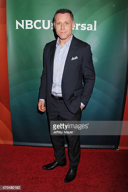 Actor Jason Beghe attends the 2015 NBCUniversal Summer Press Day held at the The Langham Huntington Hotel and Spa on April 02 2015 in Pasadena...