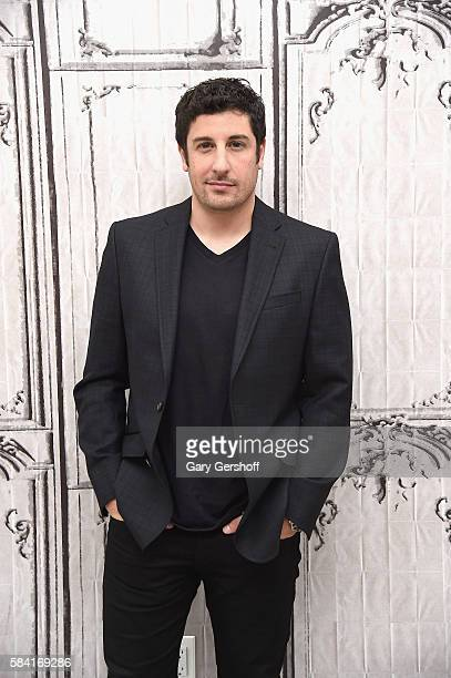 Actor Jason Biggs attends AOL Builld Presents to discuss the film 'Amateur Night' at AOL HQ on July 27 2016 in New York City