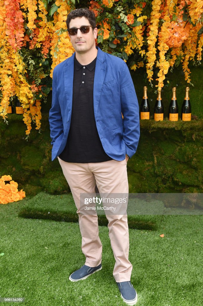 Actor Jason Biggs attends the 11th annual Veuve Clicquot Polo Classic at Liberty State Park on June 2, 2018 in Jersey City, New Jersey.