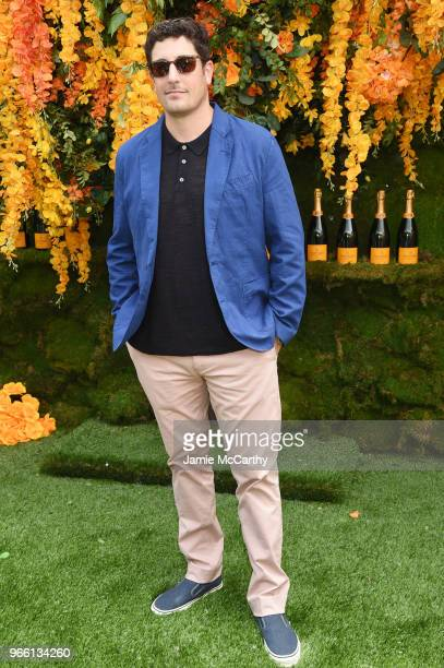 Actor Jason Biggs attends the 11th annual Veuve Clicquot Polo Classic at Liberty State Park on June 2 2018 in Jersey City New Jersey