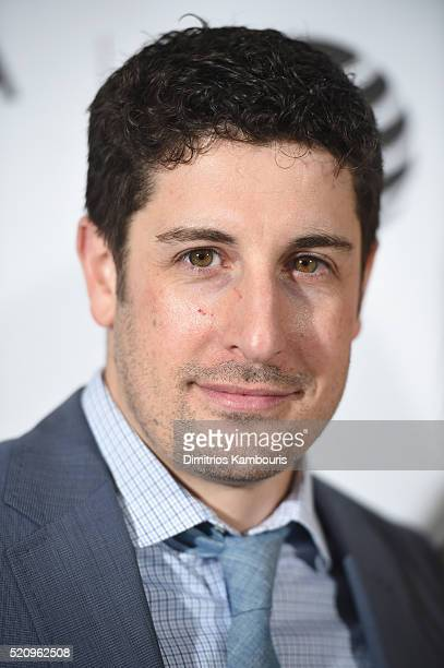 Actor Jason Biggs attends the 'First Monday In May' world premiere during the 2016 Tribeca Film Festival opening night at BMCC John Zuccotti Theater...