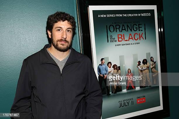 Actor Jason Biggs attends the Netflix Presents 'Orange Is The New Black' Special Screening at AMC Loews Broadway 4 on June 17 2013 in Santa Monica...