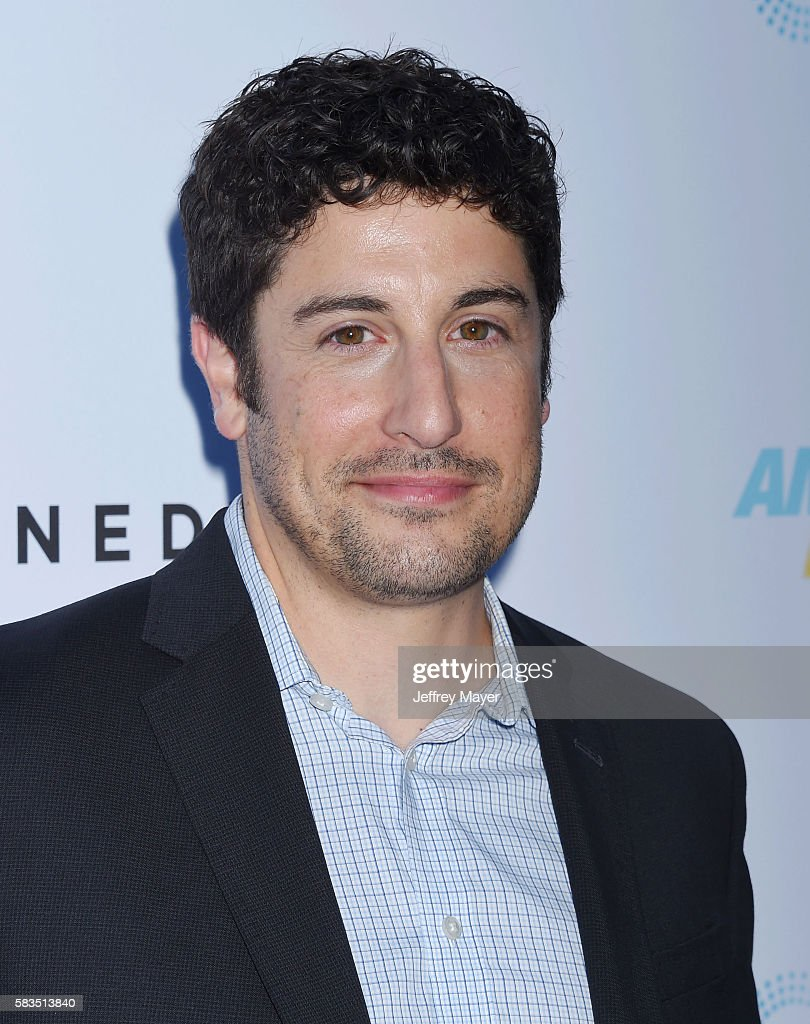 Actor Jason Biggs attends the premiere of Cinedigm's 'Amateur Night' at ArcLight Cinemas on July 25, 2016 in Hollywood, California.