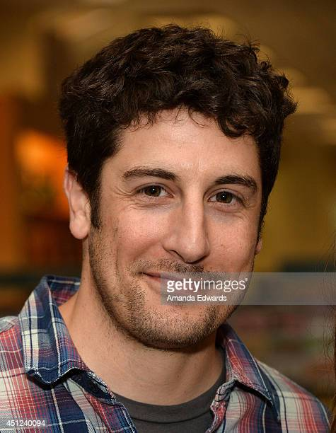 Actor Jason Biggs attends the signing and discussion of his wife actress Jenny Mollen's new book 'I Like You Just The Way I Am' at Barnes Noble...