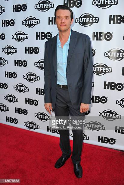 Actor Jason Butler Harner arrives to the 29th Annual Los Angeles Gay Lesbian Film Festival's premiere of The Green at the Directors Guild Of America...