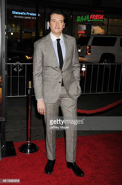 Actor Jason Butler Harner attends the 'Black Hat' Los Angeles premiere held at the TCL Chinese Theatre IMAX on January 8 2015 in Hollywood California
