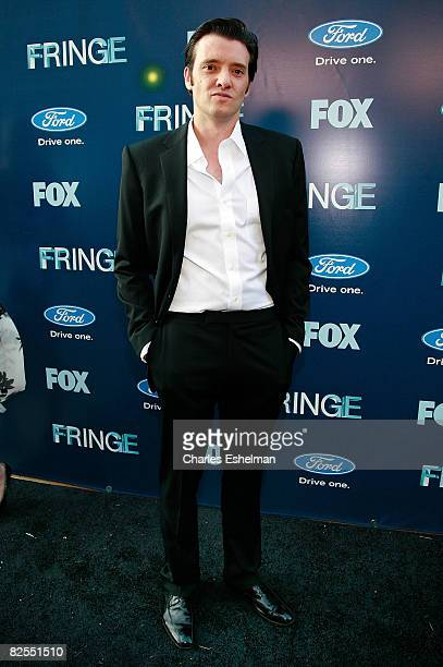 Actor Jason Butler Harner attends the Fringe premiere party at THE XCHANGE on August 25 2008 in New York City