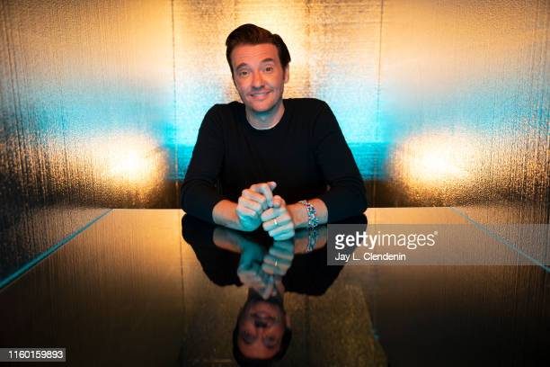 Actor Jason Butler Harner of 'Next' is photographed for Los Angeles Times at ComicCon International on July 19 2019 in San Diego California PUBLISHED...