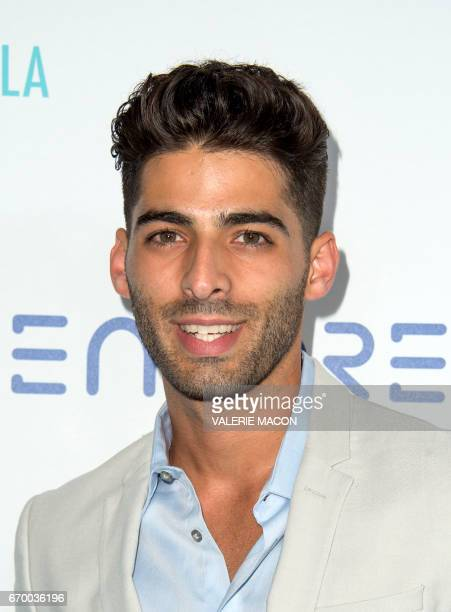 Actor Jason Canela attends the Thirst Project's 8TH Annual Thirst Gala on April 18 2017 in Beverly Hills California / AFP PHOTO / VALERIE MACON