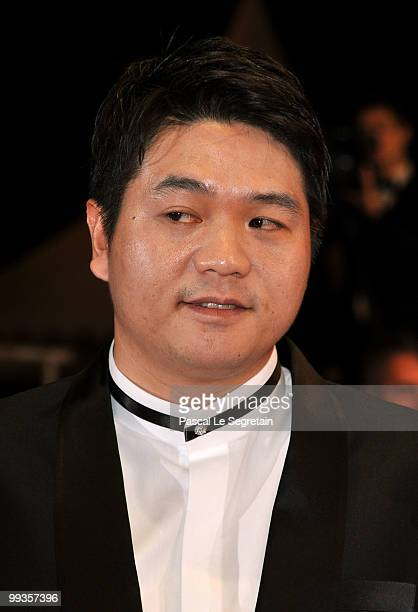 Actor Jason Chae attends 'The Housemaid' Premiere at the Palais des Festivals during the 63rd Annual Cannes Film Festival on May 14 2010 in Cannes...