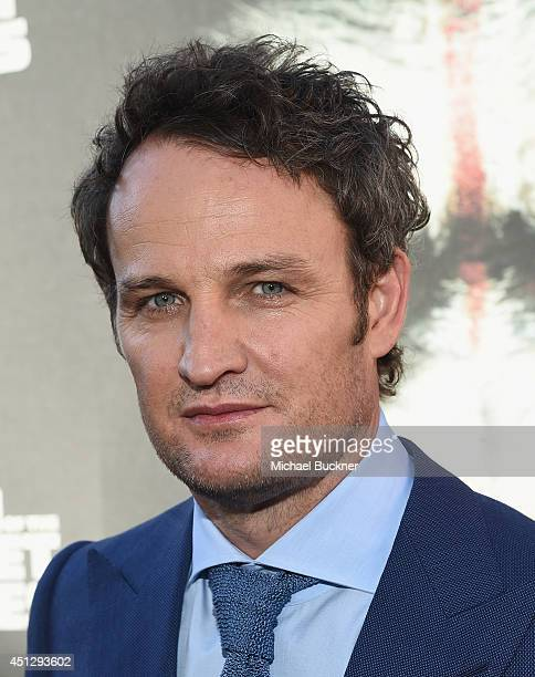 Actor Jason Clarke arrives at the premiere of 20th Century Fox's Dawn Of The Planet Of The Apes at Palace Of Fine Arts Theater on June 26 2014 in San...