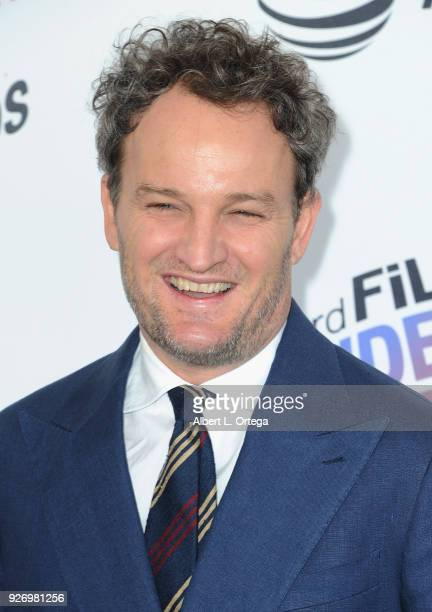 Actor Jason Clarke arrives for the 2018 Film Independent Spirit Awards on March 3 2018 in Santa Monica California