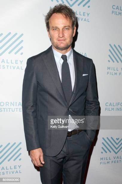 Actor Jason Clarke arrives on the red carpet for a screening of 'Chappaquiddick' during the Mill Valley Film Festival at Cinearts @ Sequoia on...
