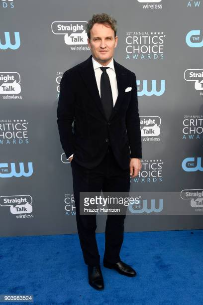 Actor Jason Clarke attends The 23rd Annual Critics' Choice Awards at Barker Hangar on January 11 2018 in Santa Monica California