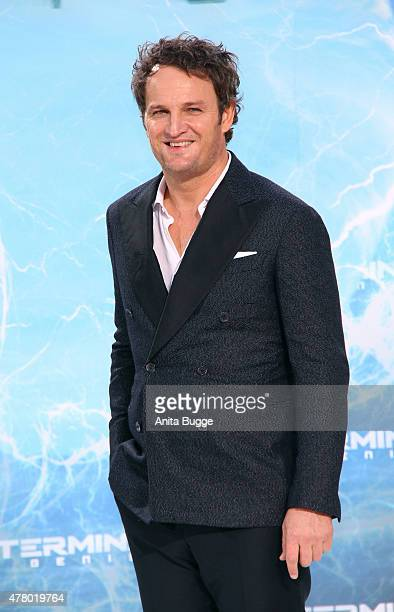 Actor Jason Clarke attends the European Premiere of 'Terminator Genisys' at the CineStar Sony Center on June 21 2015 in Berlin Germany
