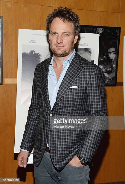 Actor Jason Clarke attends the Los Angeles Premiere of Amplify's 'THE BETTER ANGELS' at DGA Theater on October 27 2014 in Los Angeles California