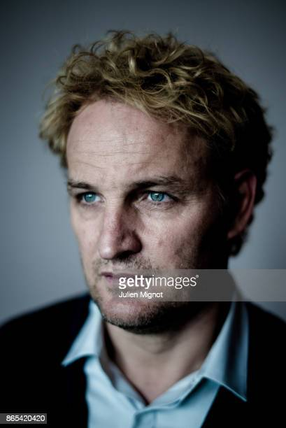 Actor Jason Clarke is photographed for Grazia Magazine on September 2015 in Deauville France