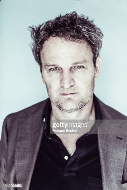 Actor Jason Clarke is photographed for Self Assignment on September 2018 in Paris France