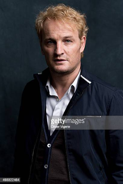 Actor Jason Clarke is photographed on September 10 2015 in Deauville France