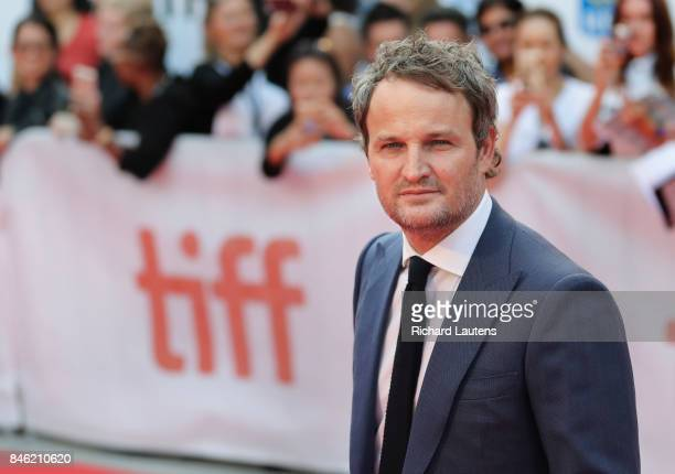 TORONTO ON SEPTEMBER 12 Actor Jason Clarke MUDBOUND had a showing at Roy Thomson Hall for TIFF On the red carpet the expected guests d Dee Rees Carey...