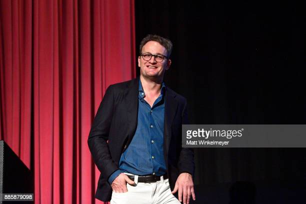 Actor Jason Clarke speaks onstage during the Hammer Museum presents The Contenders 2017 Mudbound at Hammer Museum on December 4 2017 in Los Angeles...