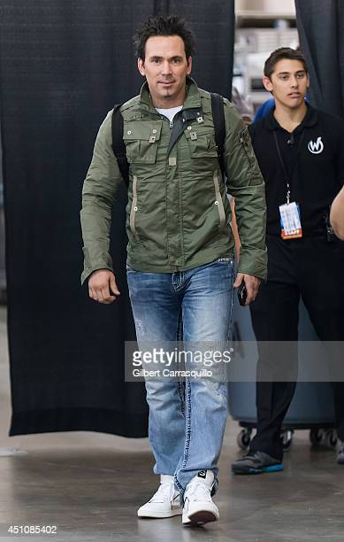 Actor Jason David Frank attends Wizard World Philadelphia Comic Con 2014 at Pennsylvania Convention Center on June 22 2014 in Philadelphia...