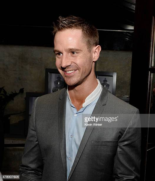 Actor Jason Dohring appears at the after party for the premiere of 'Veronica Mars' at Sadies Kitchen on March 12 2014 in Los Angeles California