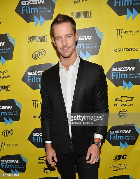 Actor Jason Dohring arrives at the premiere of 'Veronica Mars' during the 2014 SXSW Music Film Interactive Festival at the Paramount Theatre on March...