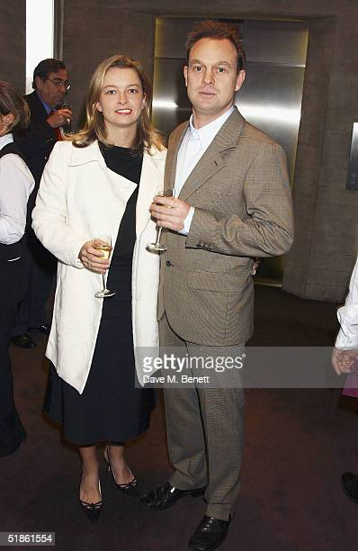 Actor Jason Donovan and partner Angela Malloch attend the Evening Standard Theatre Awards at the National Theatre on December 13 2004 in LondonThe...