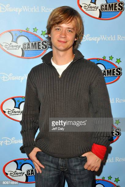 Actor Jason Earles appears on the red carpet for the 2008 Disney Channel Games at Epcot Center in Walt Disney World on May 2 2008 in Orlando Florida