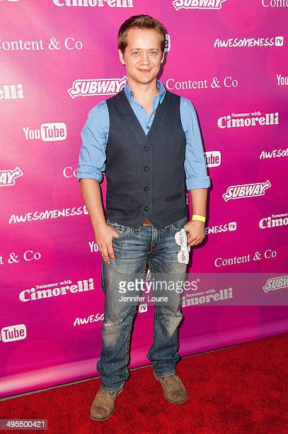 Actor Jason Earles attends the Summer With Cimorelli Red Carpet Premiere Event at the YouTube Space LA on June 3 2014 in Los Angeles California