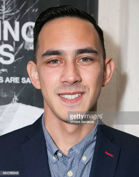 Actor Jason Fracaro attends the Guys Reading Poems fundraiser at V Wine Bar on April 11 2014 in West Hollywood California