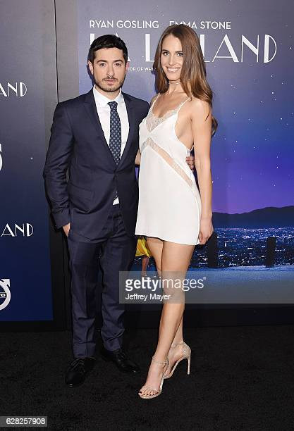 Actor Jason Fuchs and actress Alexandra Siegel arrive at the Premiere Of Lionsgate's 'La La Land' at Mann Village Theatre on December 6 2016 in...