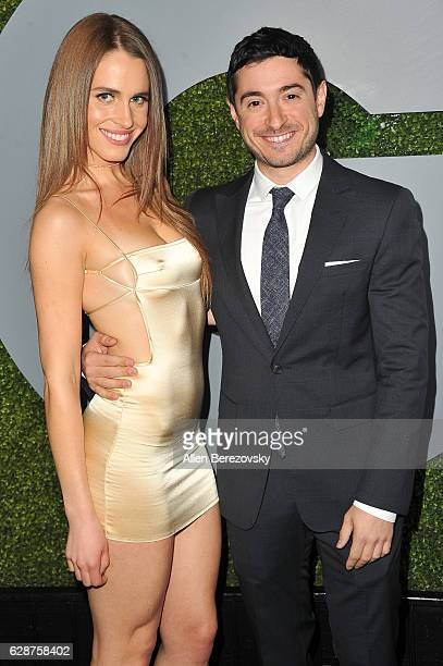 Actor Jason Fuchs and Alexandra Siegel attend GQ Men of The Year Party at Chateau Marmont on December 8 2016 in Los Angeles California